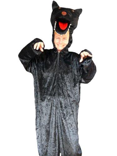 , Halloween Kostüm, Faschingskostüme, Karnevalskostüm, für Kinder und Erwachsene, für Fasching Karneval Fasnacht, auch als Geschenk zum Geburtstag oder Weihnachten (Macht Das Werwolf-kostüm)