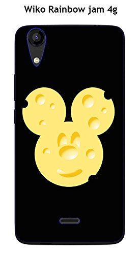 Coque TPU gel souple Wiko Rainbow Jam 4G design Mickey