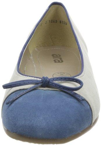 ara - Ballerine Bari, Donna Blu (Blau (inkablau,kiesel))