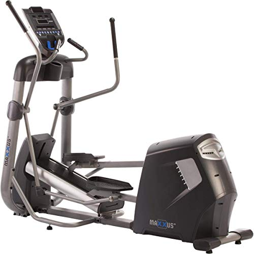 MAXXUS CX 90 Pro Elliptical Cross Trainer | Gym Quality Elliptical Trainer for Home Use | Built-In Power Generator, Incline Adjustment, Magnetic Brake System, 50cm Stride Length