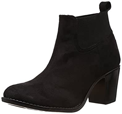 Catwalk Women's Black Fashion Boots - 9 UK (6641C)