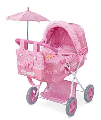 DECUEVAS Toys Auto, S.L.–Puppe Maria, zusammenfaltbar, Mehrfarbig (85023)