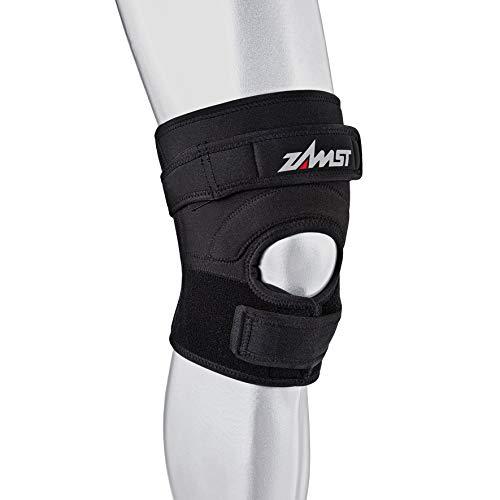 eac8a9b08b5b5 Zamst JK-2 Genouillère support centrage tendon rotulien fort Noir M