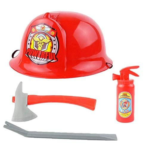 1 Juego De Lucha Contra Incendios De Vestuario Trabajador