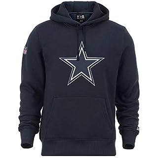 New Era - Dallas Cowboys Team Logo Hoodie - Navy Size S