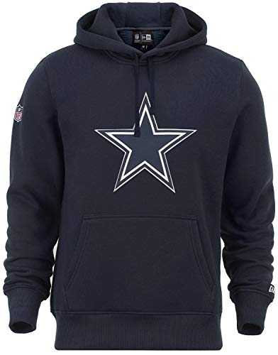 New Era - NFL Dallas Cowboys Team Logo Hoodie - Blau Größe 3XL