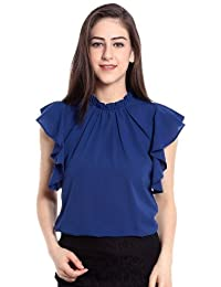 Clothsfab Women Tunic Short Top For Jeans PlainCreap Top For Daily Wear Stylish Casual AndWestern Wear Tops...