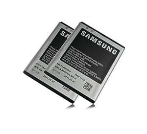 OEM Batterie de Remplacement pour Samsung Galaxy S2 i9100 Lithium-Ion 1650mAh EB-F1A2GBU 2 Pièces