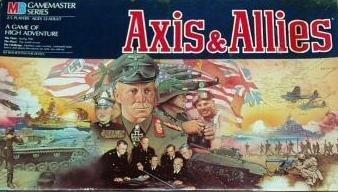 Axis & Allies by MILTON BRADLEY