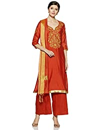 10369a95fb Amazon.in: Oranges - Salwar Suits / Ethnic Wear: Clothing & Accessories