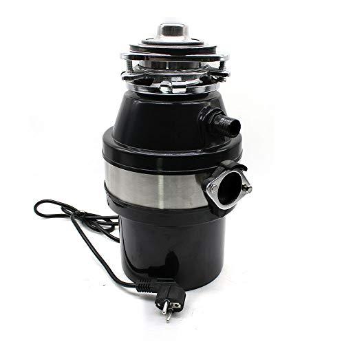 Broyeur de déchets alimentaires en acier inoxydable 0,5cv 2600 tr/min Broyeur d'évier silencieux de cuisine