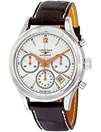 Longines Heritage Chronograph Automatic Stainless Steel Mens Strap Watch Calendar L2.750.4.76.2