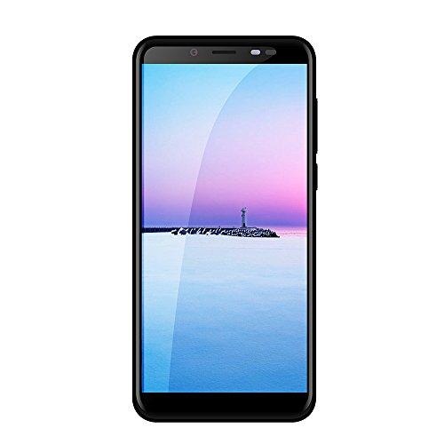 EUCoo Smartphone QUBO R6 5.7 Pollici Android 7.0 Dual SIM Supporto Ricarica Rapida 3000mAh 4GB RAM+32GB Rom Telefono Cellulare