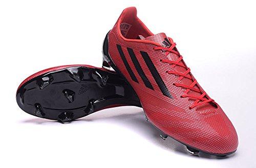 Andrew chaussures générique pour homme Rouge de Football Adizero FG Bottes de Football