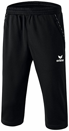 Erima, Pantaloni da allenamento a 3/4 Nero (Schwarz)