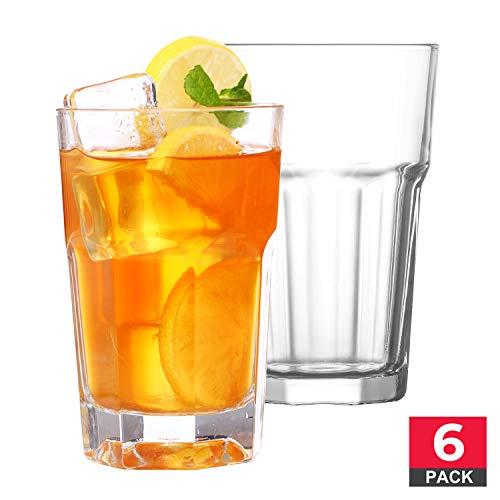 Trinkgläser-Set, hochwertig, transparent, 12 x 28 ml, 6 Stück Libbey Pilsner