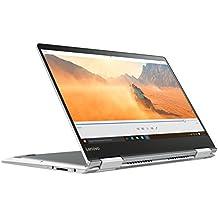 "Lenovo Yoga 710-14ISK - Portátil de 14"" FHD (Intel Core I7-6500U, 8 GB de RAM, SSD 256 GB, Nvidia GeForce GT 940MX con 2 GB, Windows 10) gris - teclado QWERTY español"