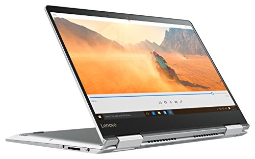 "Lenovo Yoga 710-14ISK - Portátil táctil convertible de 14"" FHD (Intel Core I5-6200U, 8 GB de RAM, SSD 256 GB, Nvidia GeForce GT 940MX con 2 GB, Windows 10) gris - teclado QWERTY español"