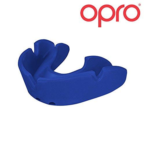 OPRO Bronze Ortho – Mundschutz für Zahnspangen-Träger – für Rugby, Hockey, MMA, Boxen, Lacrosse, American Football, Basketball – selbst anformbar – im UK entworfen & hergestellt