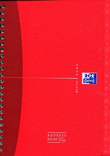 oxford-office-n002800-agenda-telefonica-de-espiral-doble-144-paginas-a5-tapa-dura-90-g-m-colores-sur
