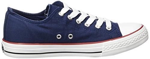 Dockers by Gerli 36Ur201-710500, Sneakers Basses femme Bleu (Navy 660)