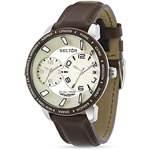 Sector R3251119004 - Orologio Uomo - Chronograph Beige Dial