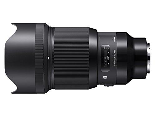 Sigma 321965 Obiettivo 85 mm-F/1.4-AF A DG HSM, Attacco Sony E-Mount, Nero