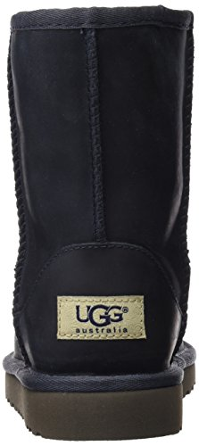 UGG Australia Classic Short Leather, Scarpe a Collo Alto Unisex – Bambini Blu (Peacoat)