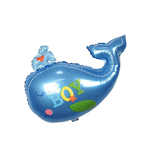 MagiDeal Baby Shower Wal Form Latex Ballon Party Dekoration - Blauer Junge