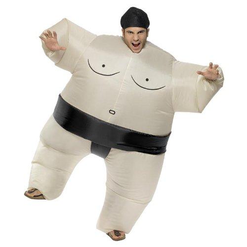 smiffys-34501-sumo-costume-wrestler-blanc-gonflable-bodysuit-avec-headpiece-taille-unique