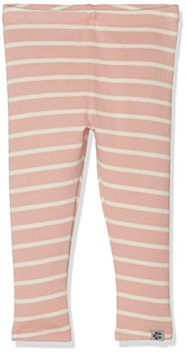 PAPFAR Baby-Mädchen Hannah Stripe Leggings, Mehrfarbig (Chintz Rose 501), 56 (Herstellergröße: 0M) (Hannah Rose)