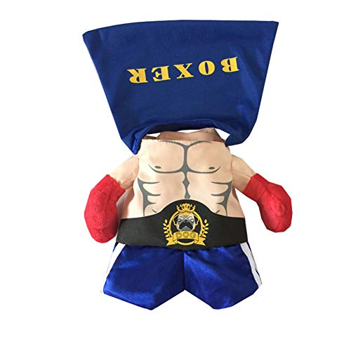 Haustier Halloween Muscle Boxer Dress Up Glamour