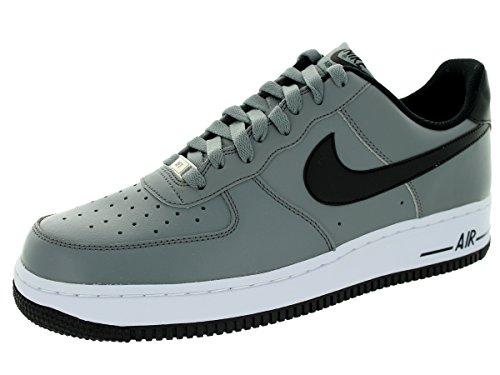 air force 1 - farbe grau-schwarz-weiß - größe 43.0