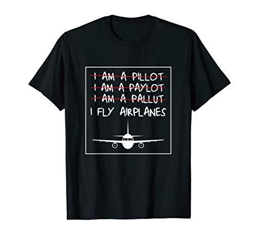 I'm A Pilot Lustiges Piloten Flugzeug Kapitän Flieger TShirt