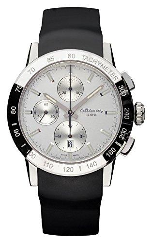 altanus Geneve Master Sport Automatico Cronografo Orologio Swiss Made