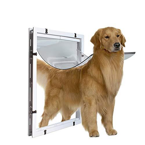 QNMM Extra Große Haustiertür Großen Hund In Und Aus Der Bildschirm-Fenstertür Für Screen Window Safety Klappe Gates Pet Door (Große Pet-gate)