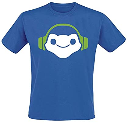 Overwatch Lucio Icon Camiseta Azul M