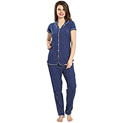 AV2 Women Cotton Top & Pyjama Set