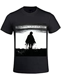 Neil Young Harvest Moon Men T Shirts Crew Neck Funny XXXX-L