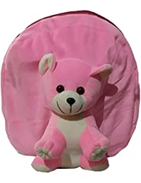 Pari Toys Pink Color School Bag For Kids, Travelling Bag, Picnic Bag, Carry Bag With Soft Material 15 Inch - B074CB7P3S