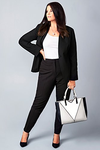 Yours Clothing - Blouson - Femme Noir