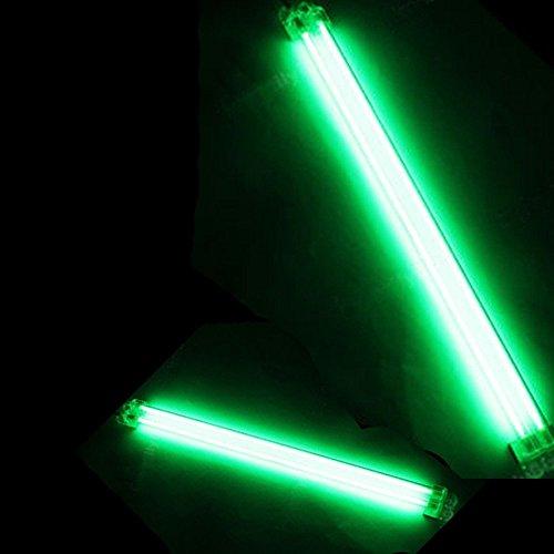 Preisvergleich Produktbild Mintice™ 15cm 30cm KFZ Unterboden Innenbeleuchtung Fußraumbeleuchtung Neonröhren Licht Kaltkathoden Grün CCFL