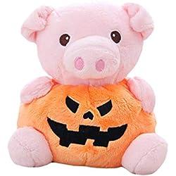 misslight Cute Animal Pumpkin Pillow Felpa muñeca de Juguete Niño Mujer Regalo de cumpleaños