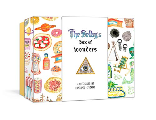 The Selby's Box of Wonders: 12 Note Cards and Envelopes + Stickers (Stationery)