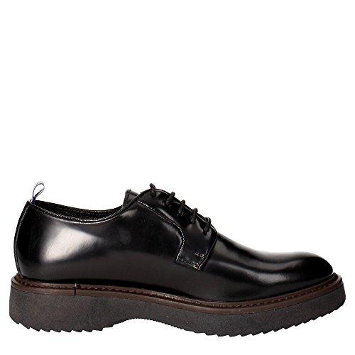 Docksteps Wells, Chaussures à Lacets Homme Noir