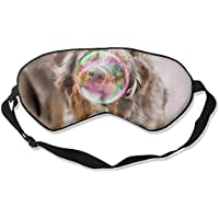 Eye Mask Eyeshade Bubble Dog Sleeping Mask Blindfold Eyepatch Adjustable Head Strap preisvergleich bei billige-tabletten.eu