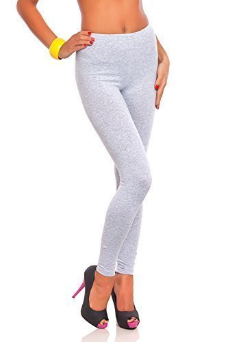 Futuro Fashion® Full Length Cotton Leggings All Colours All Sizes Active Pants Sport Trousers Test