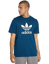 adidas Trefoil T-Shirt, Maglietta Uomo, Legend Marine, M