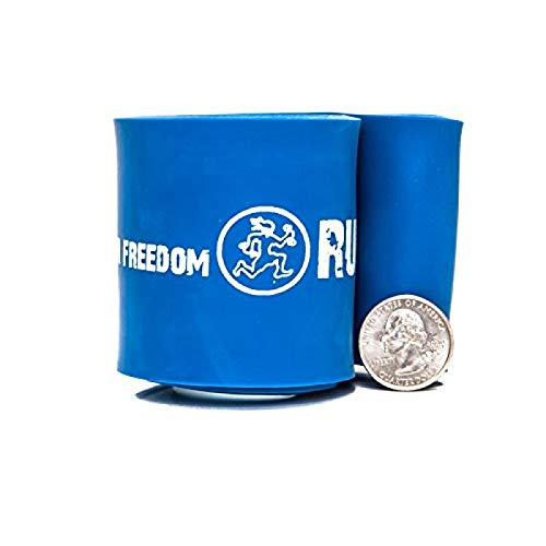 Rubberbanditz RB 12 in Strong Rehab/Recovery Band - #6 Blue - 60-150 lb (27-68kg) Resistance Blue Cross Band