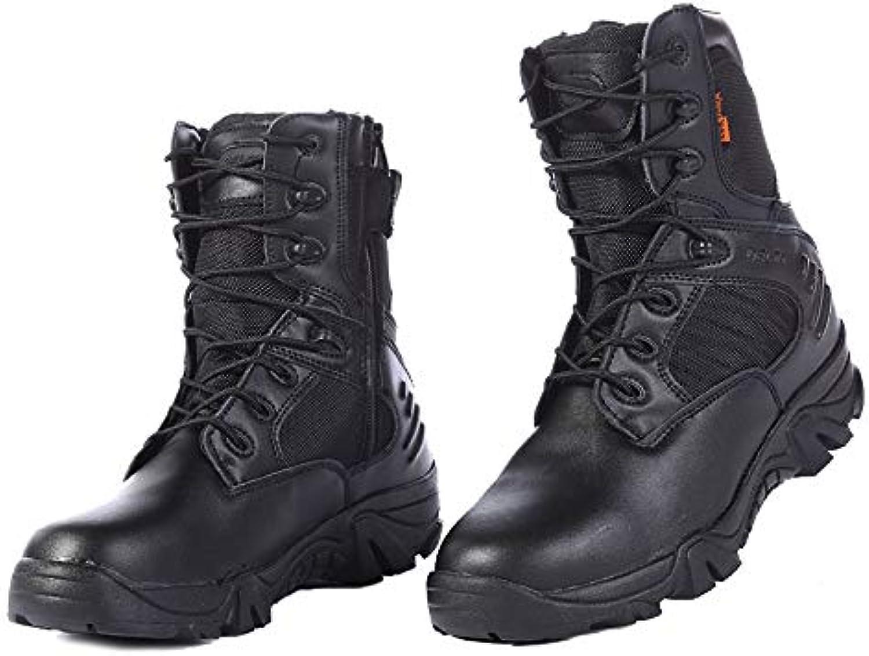 HCBYJ scarpa Stivali Alti da Deserto, Stivali  Militari Tattici inPU  per Aiutare Gli Stivali da Deserto nel Deserto | caratteristica  | Scolaro/Signora Scarpa
